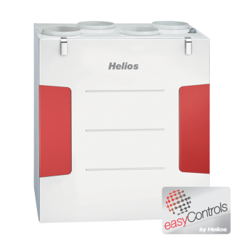 Helios KWL EC 200 W ET R